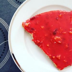 ♥️♦️ ⭕️ Red dingue de tarte praline!!! #eatdessertfirst #jocteur #hallesdelyon #tartepraline #epicurienne #lyonnaise ♥️♦️⭕️