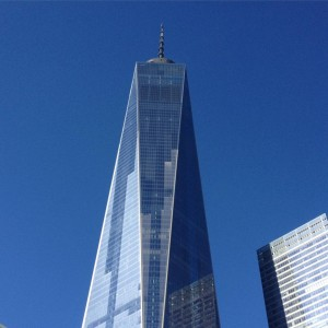 The 1⃣  #WTC #newyork #trip #bluesky #memories downtown