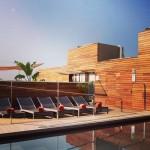 Coup de  sur le blog  rooftop pool terracehellip