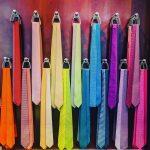 Silk rainbow  silk tietheknot tie luxury shopping handmade madeinfrancehellip