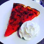 Le dessert compltement ouf de ce midi lebiniou  tartehellip