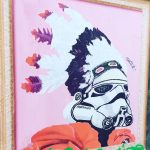 On en a retrouv un ! streetart stormtrooper indian lyon7powahellip